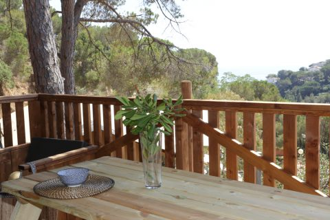 Lodge Safari Tent Camping Cala Canylelles